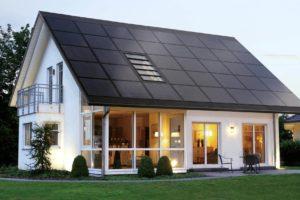 Integrated solar panels