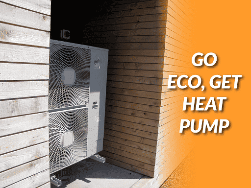 Brand New Air Source Heat Pump Being installed in Pennsylvania