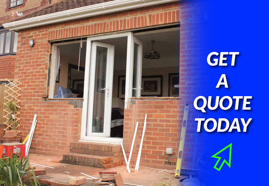 UPVC window installation in Poundon
