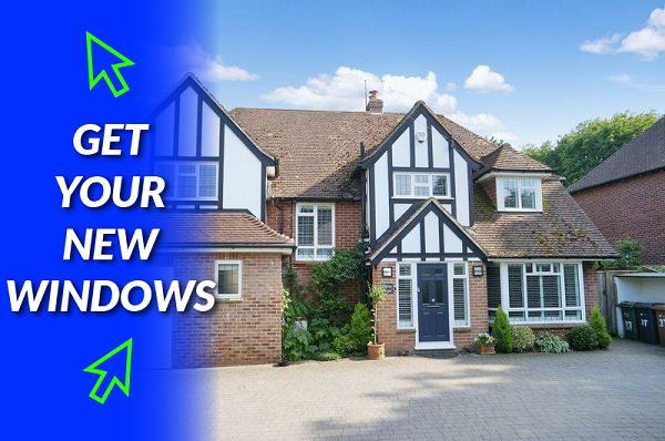 UPVC window installation in Furzton Lake