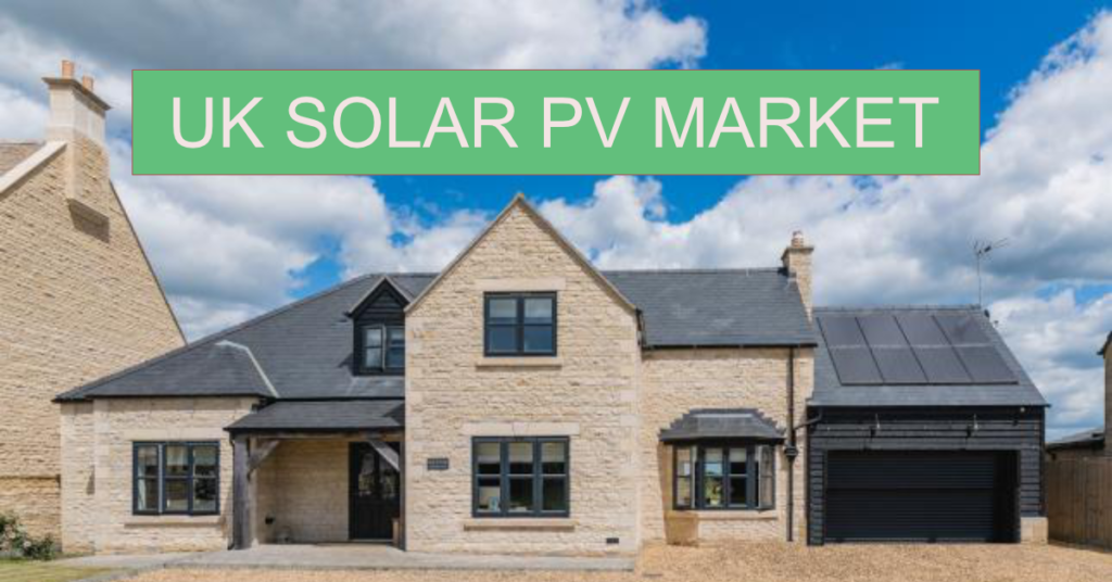 UK Solar PV market and Smart Export Guarantee